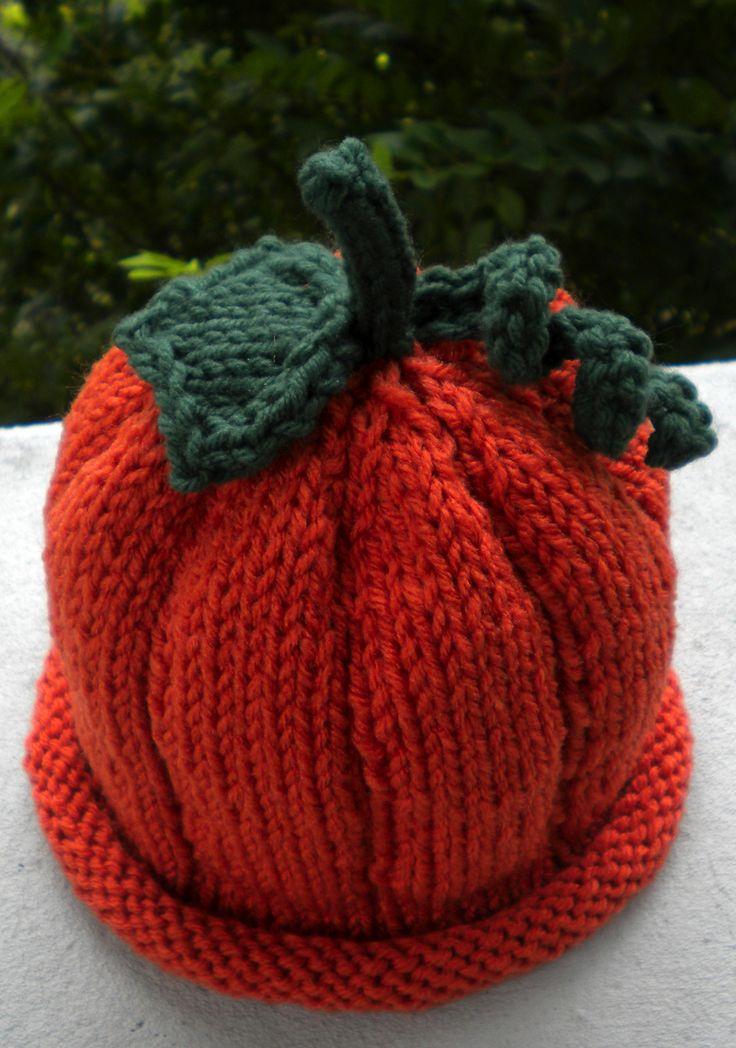 Pumpkin hat pattern