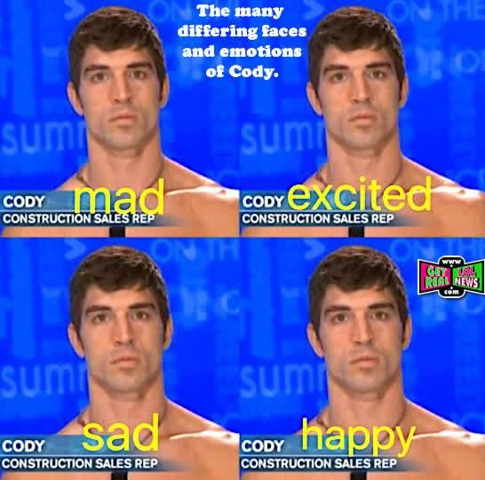 """Big Brother 19"" News: Fans Still Fascinated By Cody's Many Facial Expressions...ONE!"