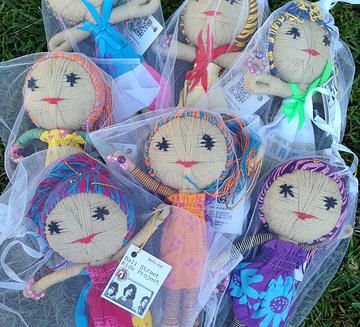 Sara Doll @ find found forage. AUD$10 supporting Bali's Street Kids Project.