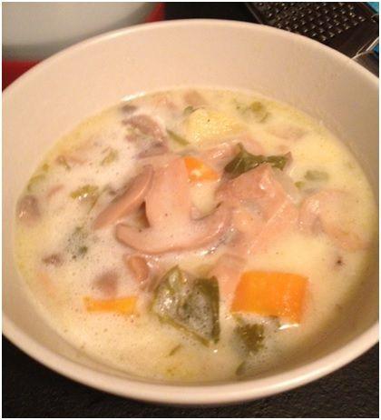 Εύκολη, γρήγορη και πάμφθηνη μανιταρόσουπα by Singleparent! | Singleparent.gr