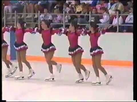 The Whitby Ice Fyre win their 2nd senior Canadian synchronized skating title ahead of teams from Laval (Les Pirouettes), Kitchener (Kweens on Ice), Delhi and Edmonton (Seniors).