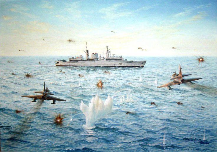 Pinturas e Ilustraciones de la Guerra de Malvinas.(Megapost) - Taringa!
