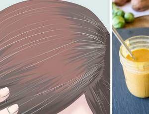 Como eliminar os cabelos brancos naturalmente sem usar tintura - Ideal Receitas