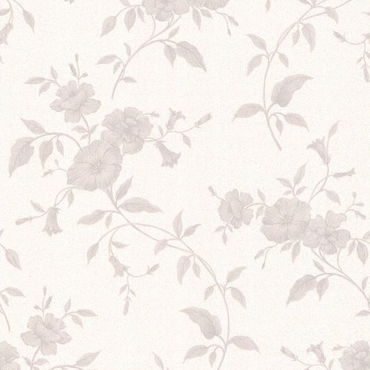 tapestry grey and white wallpaper large - Wallpaper Wall Designs