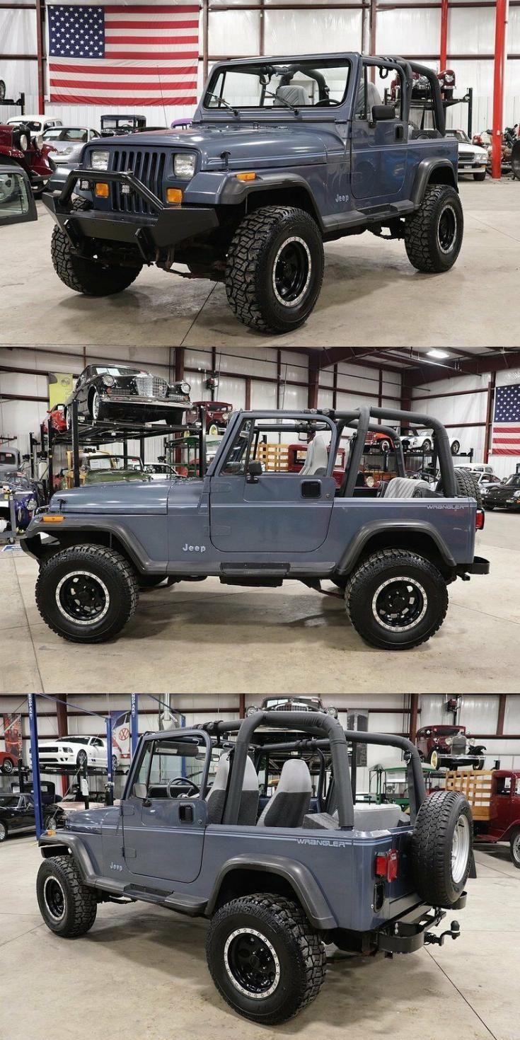Low Mileage 1992 Jeep Wrangler 4 4 Jeep Wrangler Jeep Wrangler Yj Jeep Yj