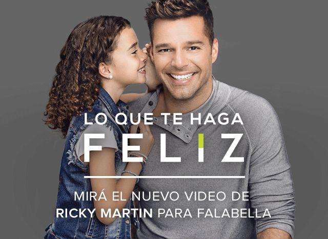 Te presentamos el nuevo video de Ricky Martin para Falabella. Contanos qué te…
