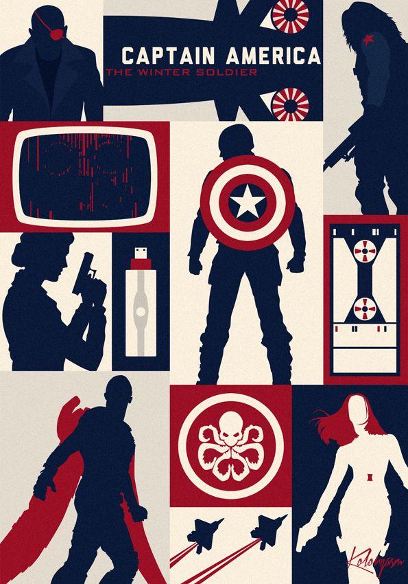 Captain America The Winter Soldier - Kolorgasm