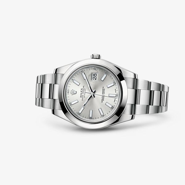 The Oyster Perpetual Datejust II has the charisma and majesty of a classic revisited.