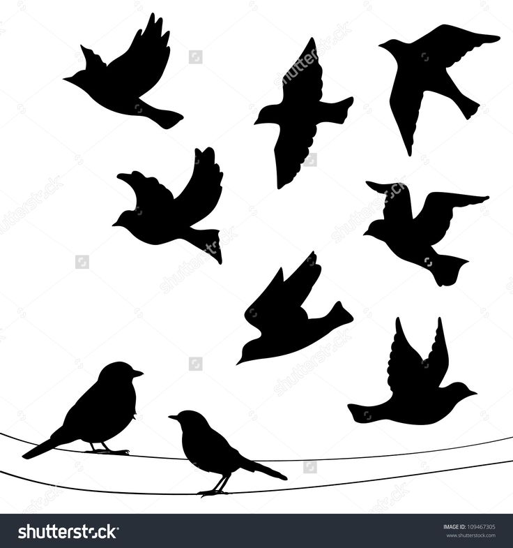 17 best ideas about bird silhouette tattoos on pinterest