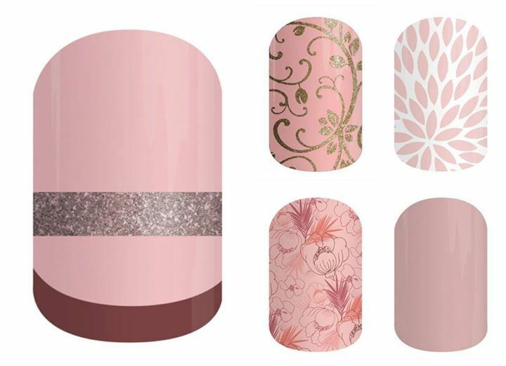 Jamberry Pairings | SoNailicious x Jamberry Suave French Twist