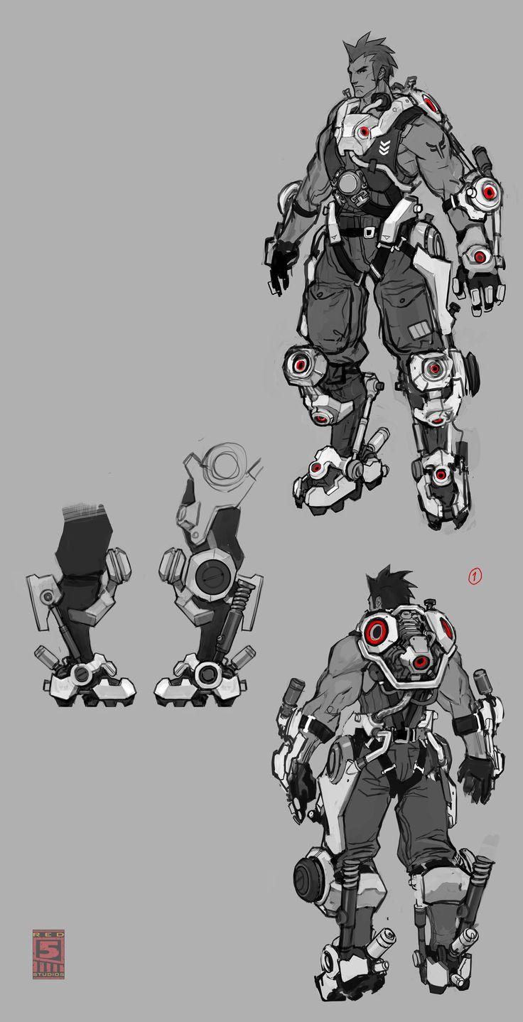 FireFall Battleframe Concept Art - FirstPersonShooters.net