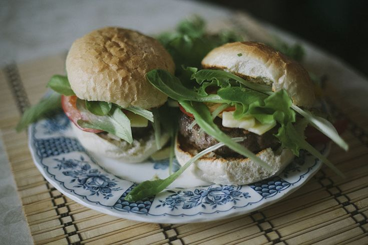 Not-Quite-Homemade Hamburgers