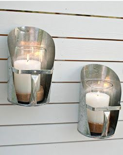 grain scoop candle sconces - Tractor Supply