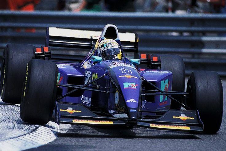 Domenico Schiattarella Simtek - Ford 1995