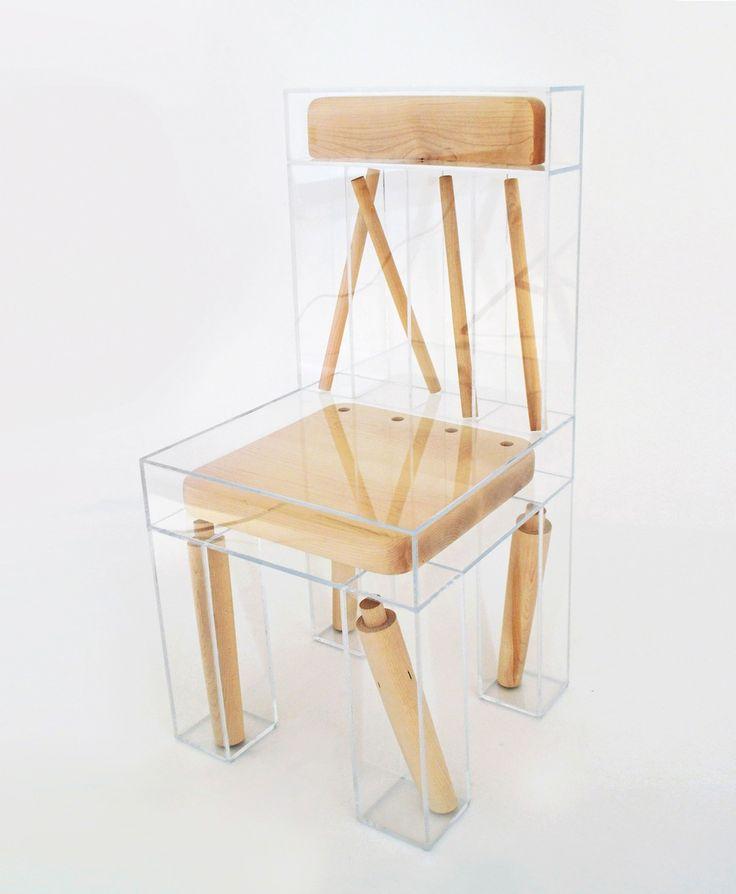 Von Weitem Erscheint Dieses Stuhl Design Von Joyce Lin Alles Andere Als Gut  Zum Sitzen. Denn Hier Sitzt Nichts, Wie Es Eigentlich Soll. Aber Die  Ahornholz