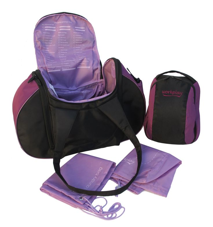 Would you agree that this is the most thought out gym bag in the market...?! It includes a wash bag, shoe bag, laundry bag, locker key holder, packing prompt list, wet compartment, jewellery pocket, coin pouch AND much more - yes it's possible! See: http://www.workplay-bags.com/Online-Shop/c1/p42/The-Goddess-III---Womens-Gym-and-Travel-Bag---Berry-/-Black/product_info.html