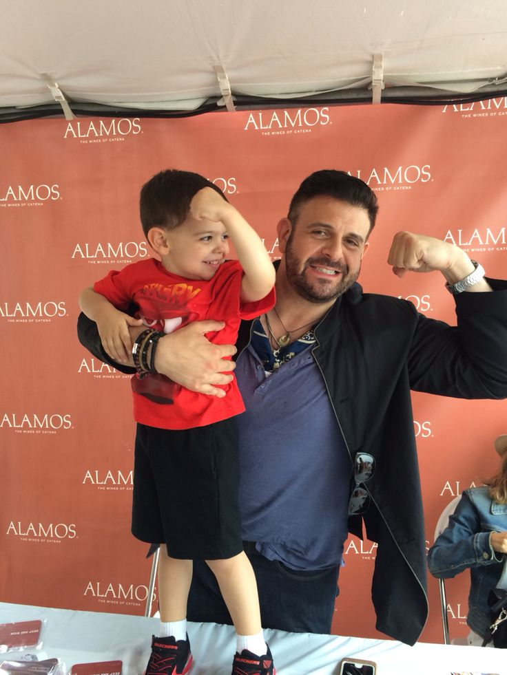 My son & Adam Richman at the Taste of Chicago 7-11-15