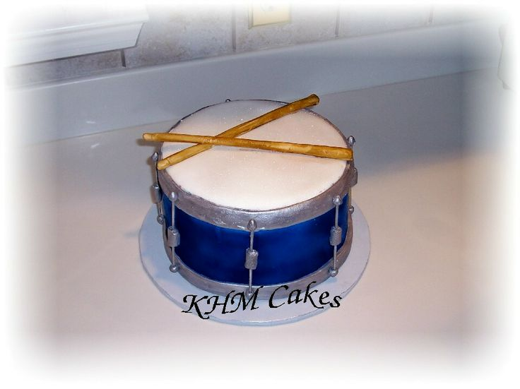 drum birthday cake | cake was created for a drummer s birthday the cake was 3 layers http ...