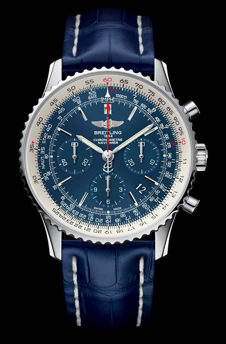 Breitling Navitimer Blue Sky Limited Edition 60th anniversary.