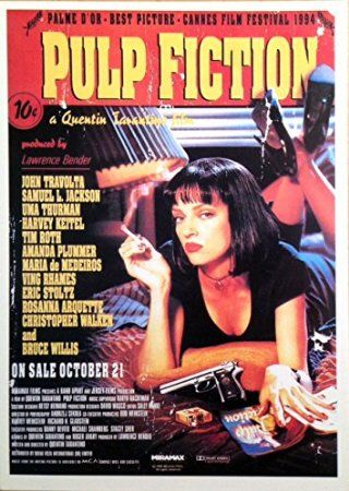 Pulp Fiction Postcard - 10x15 cm