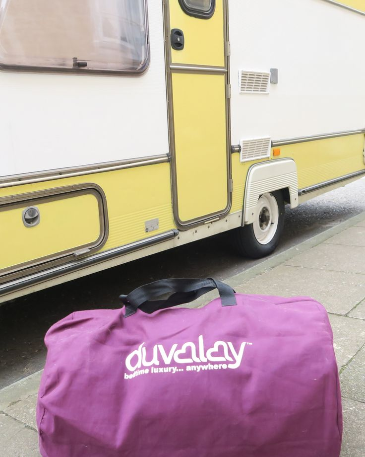 I've been on a mission to find the must have caravan accessory and can happily announce that I've FOUND it!! Introducing the Duvalay.