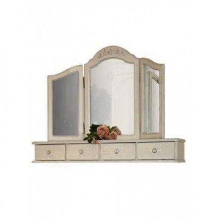 Зеркало трельяж ФИЕРТА-10 8800р  25 х 109 х 75 (см).