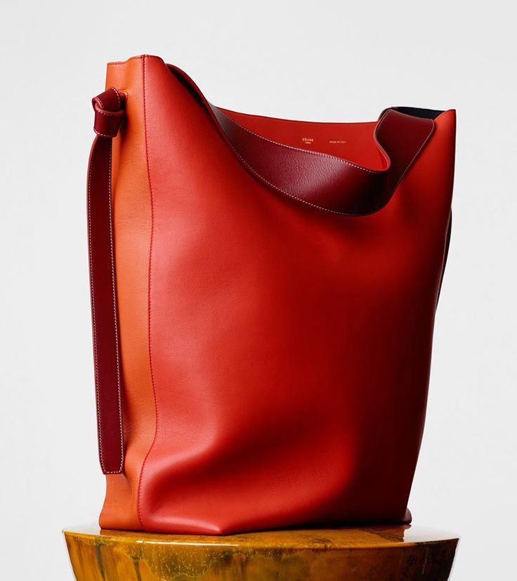 celine brown cloth handbag
