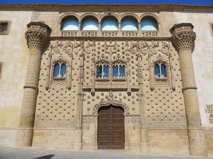 palacio de #Jabalquinto , #Baeza: Photos, Palaces Baeza, Úbeda, Architecture, De Jabalquinto, Pivari Palacio, Palace