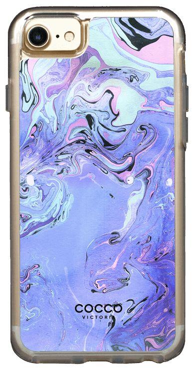 Grape Twist Exotic Marble Case - iPhone 7/6S/6