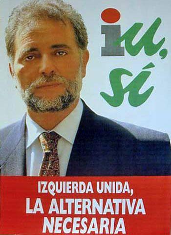 IU amb Julio Anguita al 1993