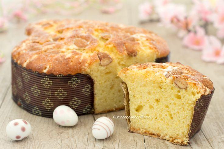 Torta+colomba+al+limone+sofficissima