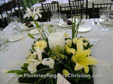 72 best images about velas on pinterest - Centros de mesa con velas ...
