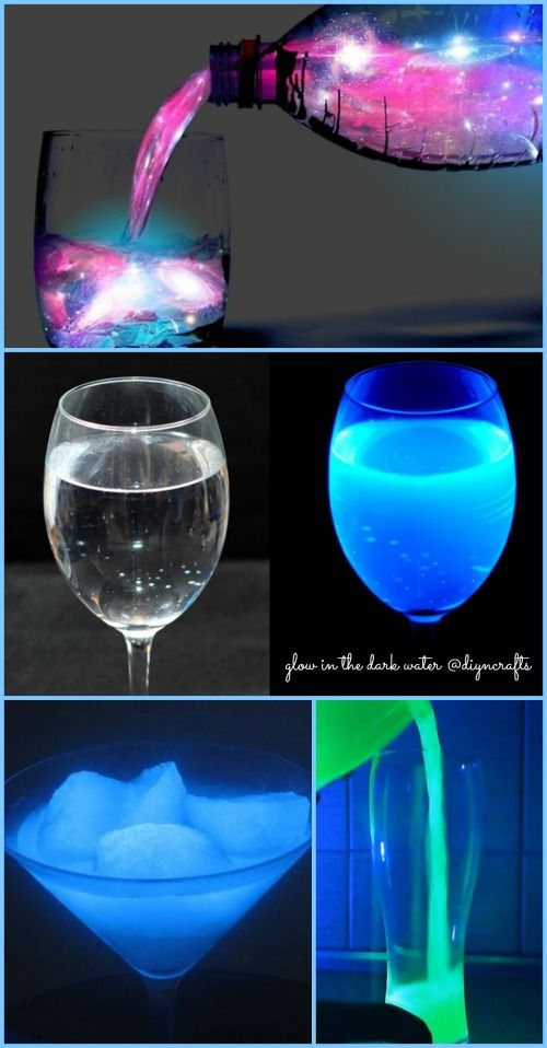 Wow cool project! Ingenious Science Project: How to Make Glow in the Dark Water ... 2