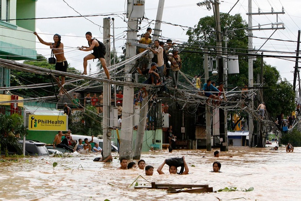 5 Asian cities Severe Flooding