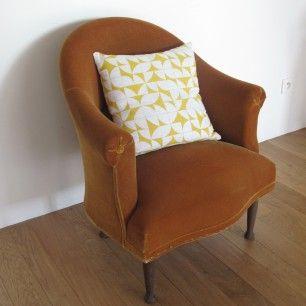 Meer dan 1000 idee n over fauteuil crapaud op pinterest tapissier d corateu - Fauteuil crapaud jaune ...