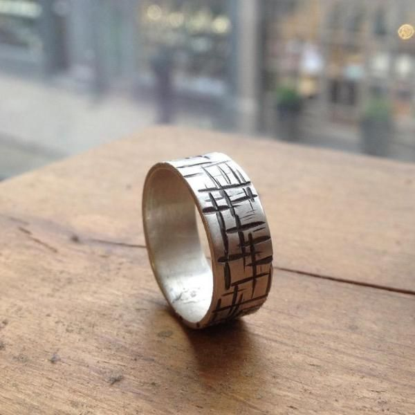 A Maze In Ring Band – Taer Jewellery