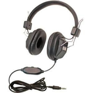 Califone 10 Pack Kids Headphone, #1534BK-10L