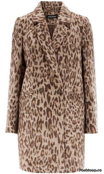 Купить пальто леопардовое на маленький рост