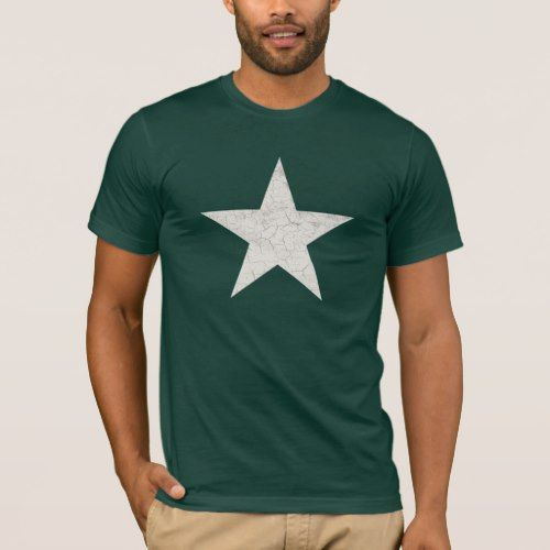 RUSTIC US ARMY STAR T-Shirt