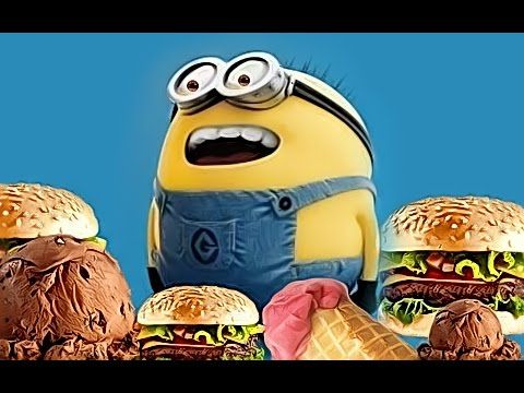 Minions Toy Movie - Fast Food - YouTube
