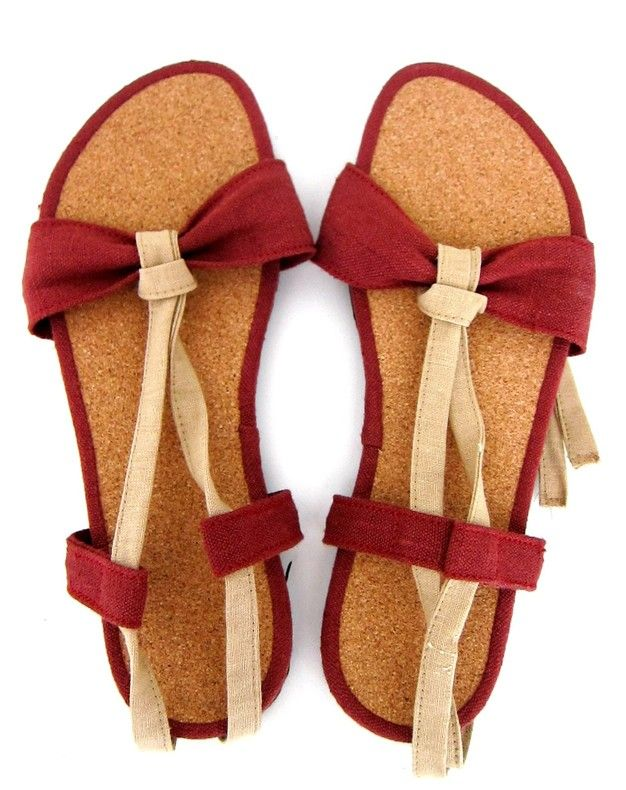 Red Espadrille by Sols Sandals for sale on http://hellopretty.co.za