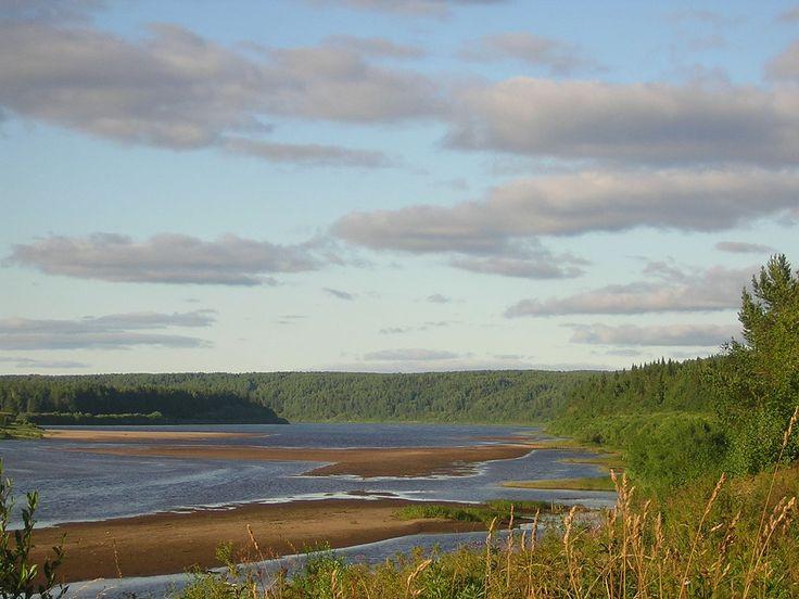 Vym River - Komi Republic