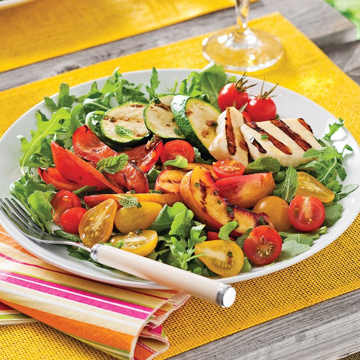 Une salade-repas originale et savoureuse.