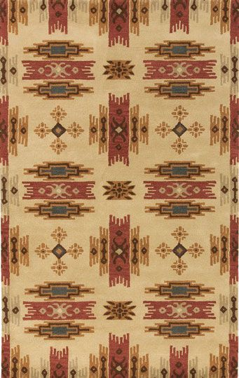 HUGE CLEARANCE SALE SOUTHWESTERN RUGS - Santa Fe 4004 Area Rug - Western Decor - Cabin Decor   buy at Lights in the Northern Sky  http://www.lightsinthenorthernsky.com/specials.php