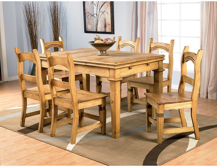 Santa Fe 5-Piece Dining Package, MES50 SIL20 5 PC PKG (MES50PK5) | The Brick