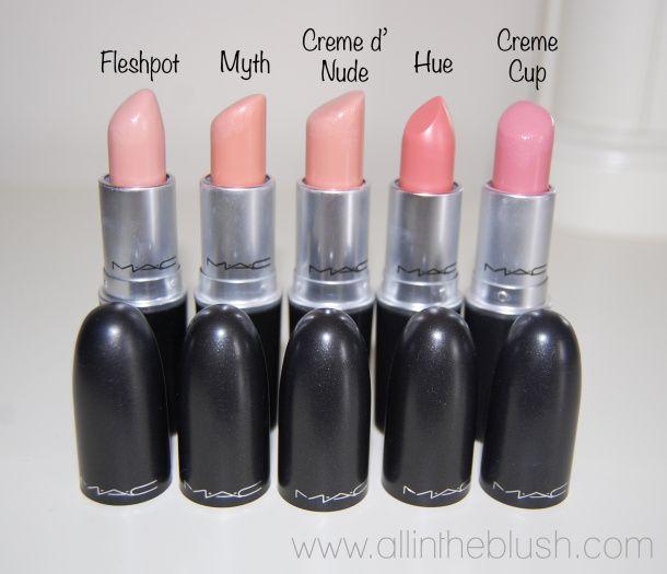 MAC Nude Lipsticks