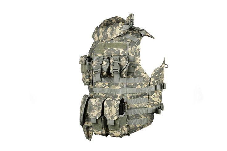 AMA 600D MOLLE Interceptor Body Armor OTV - ACU | Airsoft Megastore