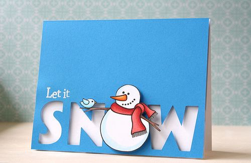 Jane's Doodles: let it snow