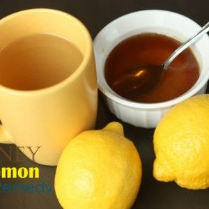 Honey Lemon Cold Remedy  Honey Lemon Cold Remedy 1 cup water 2 teaspoons honey 2 teaspoons fresh lemon juice Heat water on the stove, or in a microwave-safe mug. Add honey and lemon juice to the heated water, mixing until honey is dissolved.   Test with a spoon before sipping to make sure it isn't too hot.