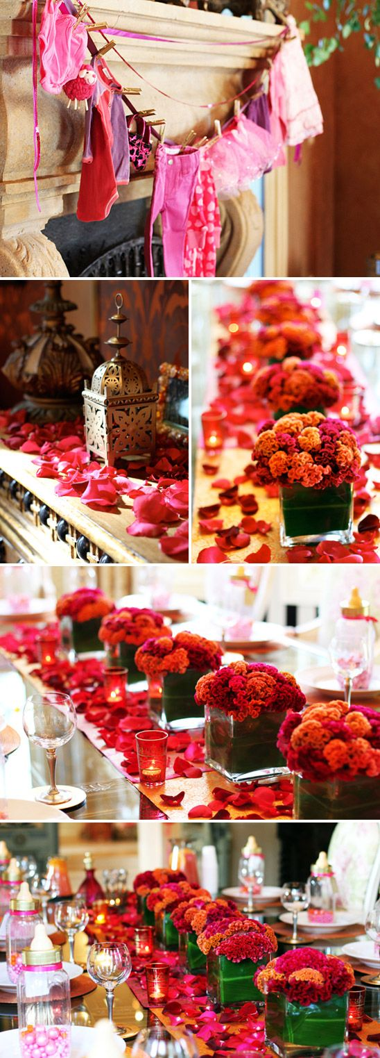 Moroccan Themed Baby Shower